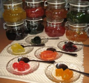 Glyka koutaliou (In Sirup eingelegte Früchte)