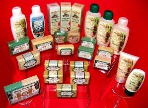 Natürliche Kosmetik von der Insel Kreta mit Olivenöl